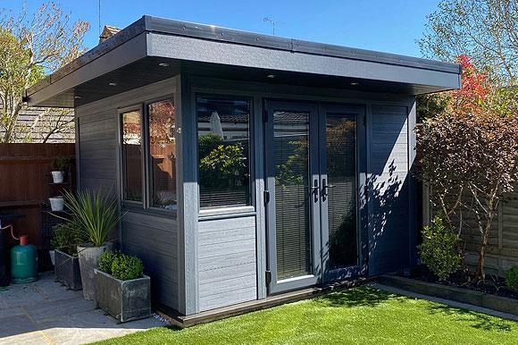 High Performance Composite Garden Rooms Southampton