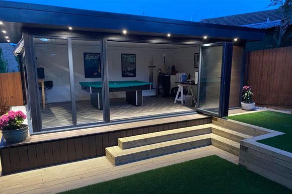 Relaxing Garden Studio Retreats Southampton